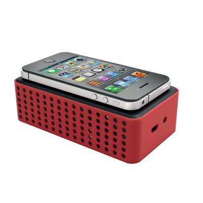 TouchPLAY 2 self powered contact phone speaker amplifier