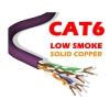 CAT6 UTP LSZH low smoke COPPER Network Cable Reel BOX 305m Purple