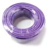CAT6 Cat 6 UTP Network Cable 50m Mini reel LSOH Purple Copper