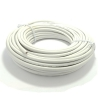 100M White Reel 100U 75 Ohms Foam Filled Satellite TV Coaxial Cable - Copper Braided