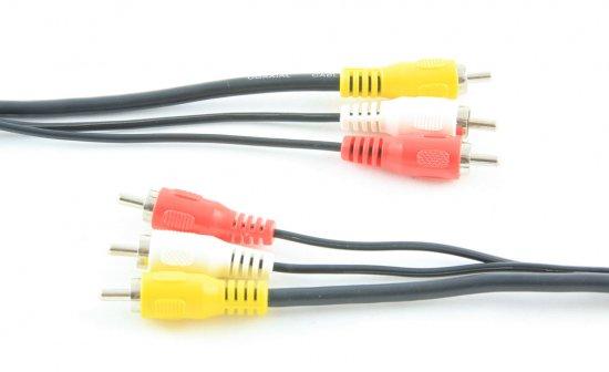 MEP 3xRCA plugs/3xRCA plugs