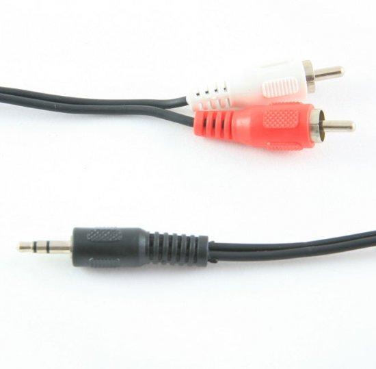 MEP 3.5mm Stereo Jack To Phono Plugs RCA