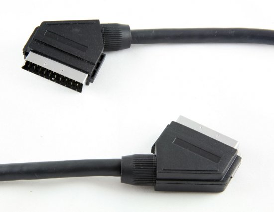 MEP Scart plug/plug (screened)