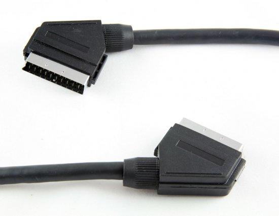 MEP Scart plug/plug (screened)