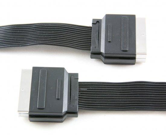 MEP Scart plug/plug ribbon cable
