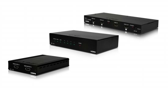 MEP HDMI distribution amplifier with remote