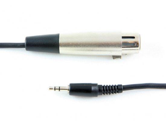 MEP 3.5mm  stereo  plug/XLR socket  3m