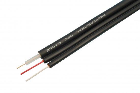 MEP Professional Oxygen Free 3 Core Audio Visual Cable Black - 100m Reel