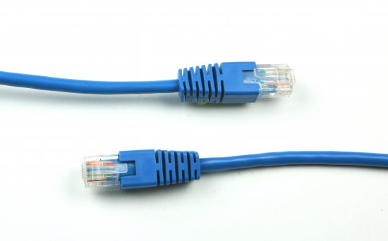 MEP RJ45 Patch Lead, Blue
