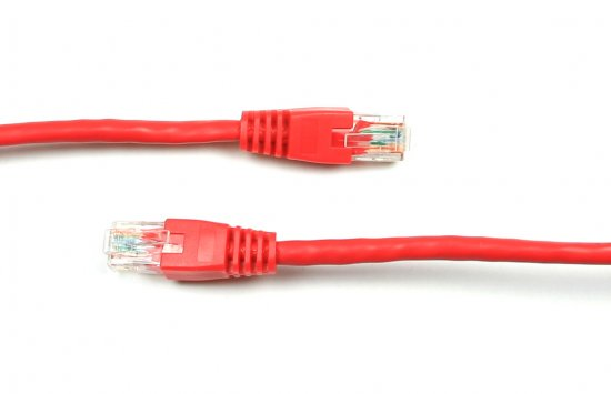 MEP RJ45 Patch Lead, Red