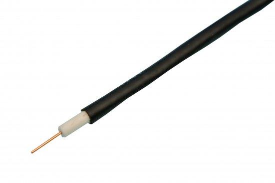 MEP RG6 Foam Filled  Satellite Cable Aluminium Screened Black